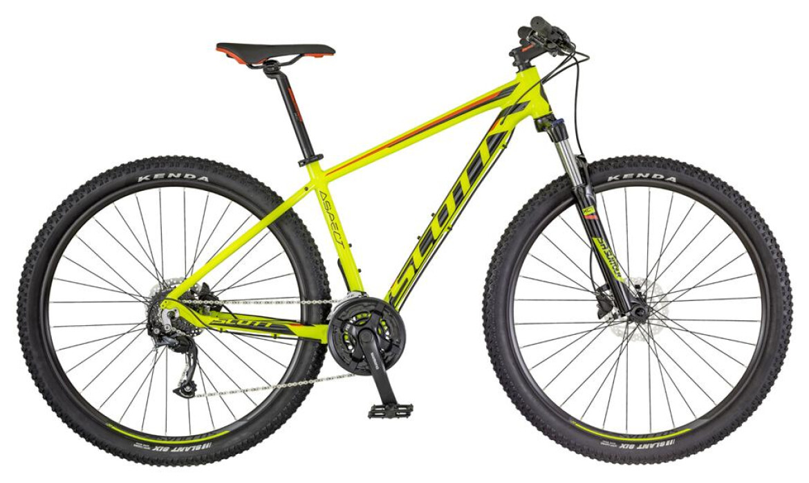 Scott Aspect 950 yellow and red 2018