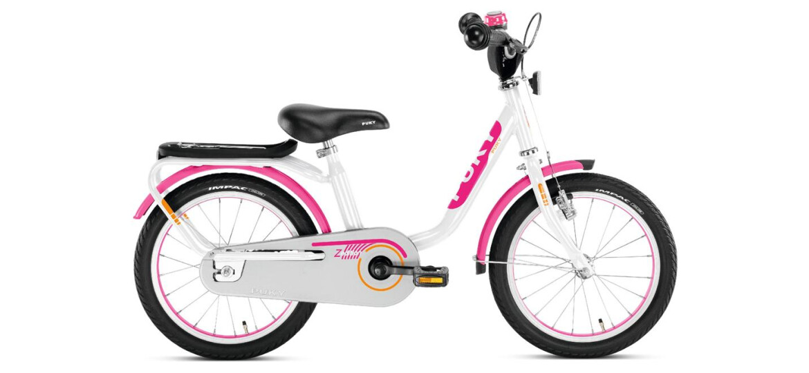 puky z 6 edition wei pink 16 zoll kinderfahrrad bei. Black Bedroom Furniture Sets. Home Design Ideas