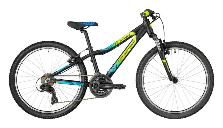 Bergamont Revox 24 Boy black/neon yellow/cyan 2018