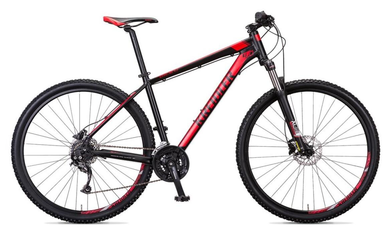 Kreidler Dice 29er 4.0, Moutainbike mit 24-Gängen Shimano, Federgabel