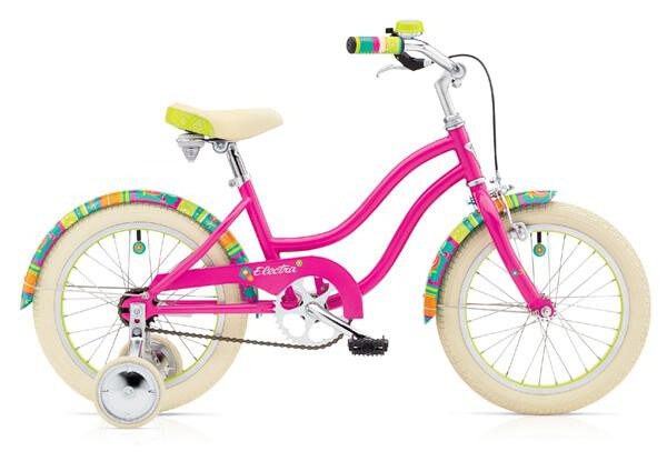 "ELECTRA BICYCLE - Water Lily 1 16"" Girls'"