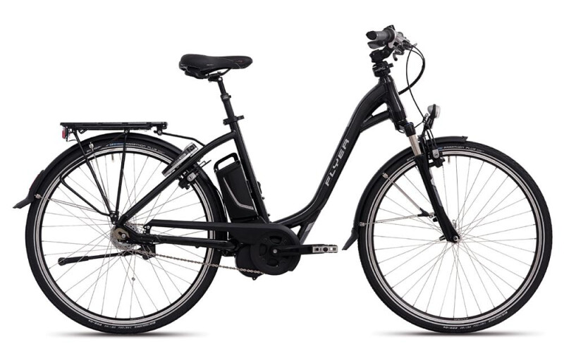 FLYER T-Serie Perlschwarz E-Bike