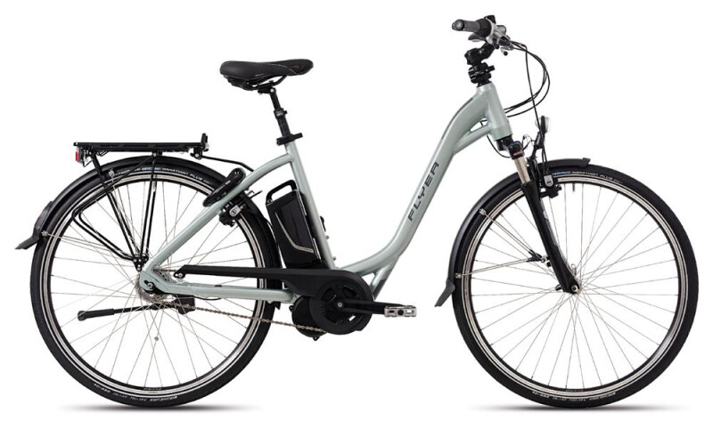 FLYER T-Serie Jadegrün E-Bike
