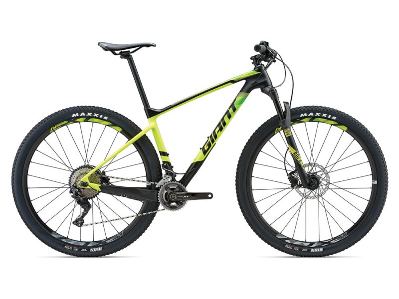 GIANT XtC Advanced 2 LTD Carbon/Yellow