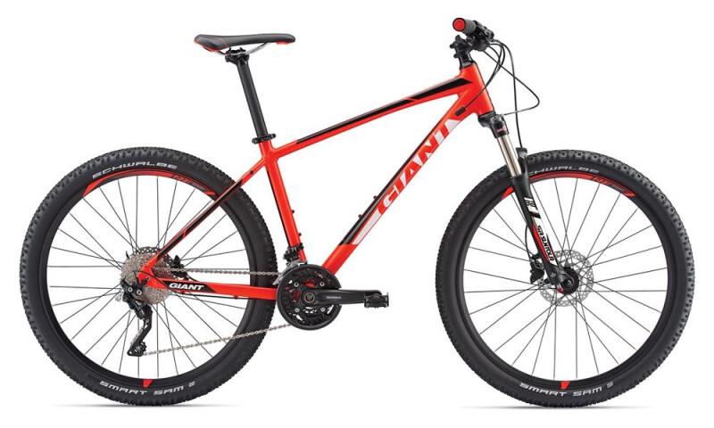GIANT Talon 1 LTD red Mountainbike