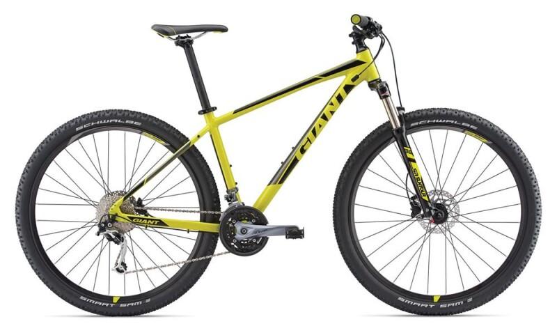 GIANT Talon 2 29er yellow Mountainbike