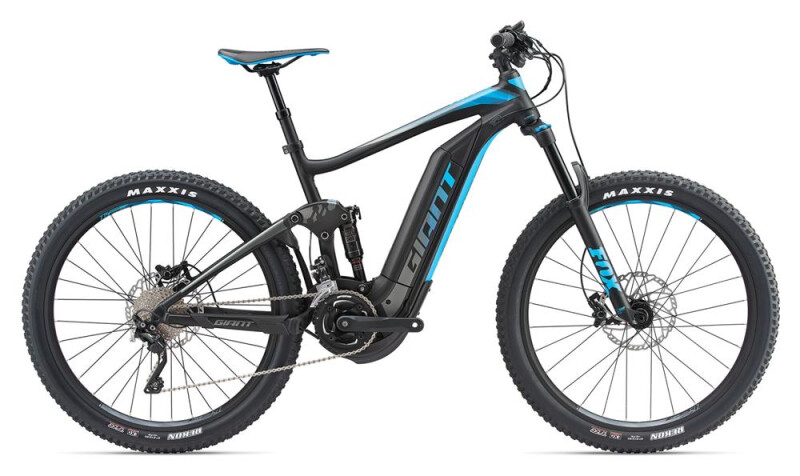 GIANT Full-E+ 1.5 Pro LTD Black/Blue E-Bike