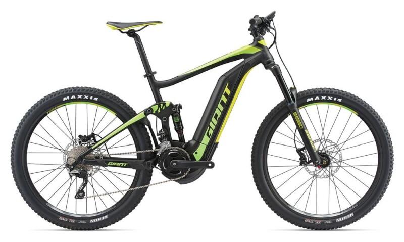 GIANT Full-E+ 2 Black/Green/Lemon E-Bike