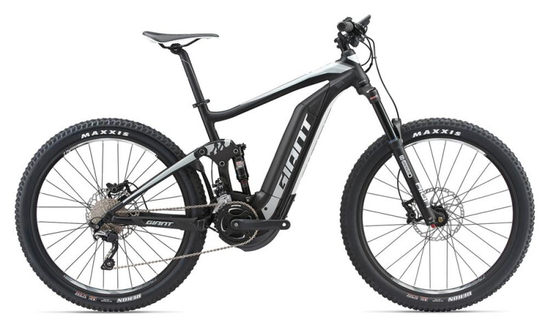 GIANT Full-E+ 2 Black/Grey/White E-Bike