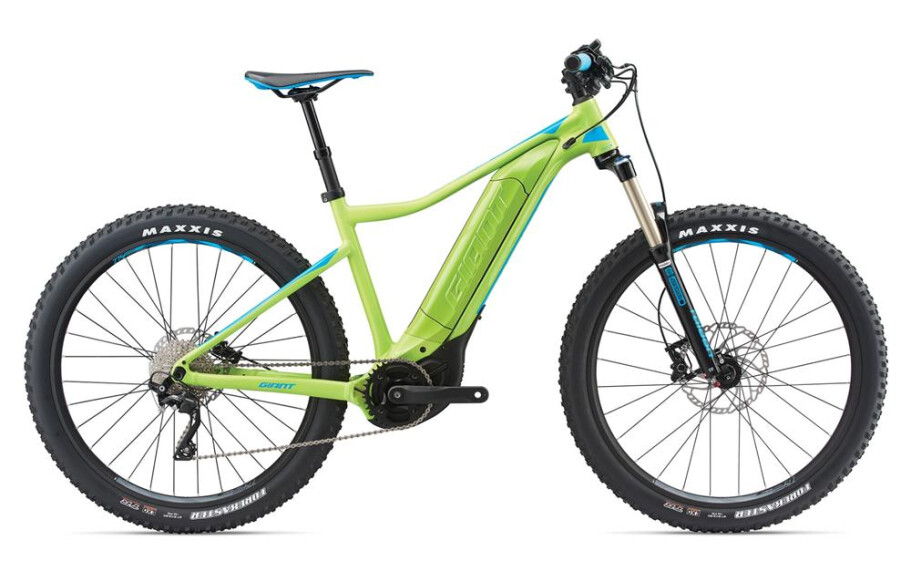 GIANT Dirt E+ 2 Pro green/blue L