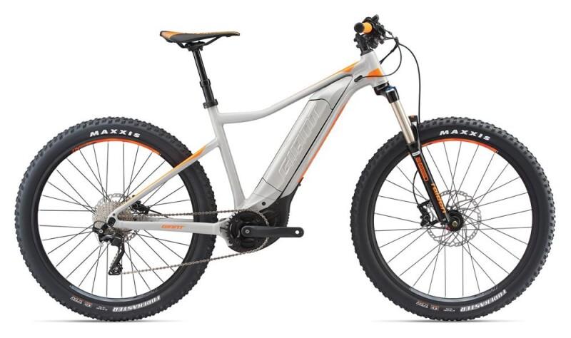 GIANT Dirt-E+ 2 Pro Grey/Neon Orange