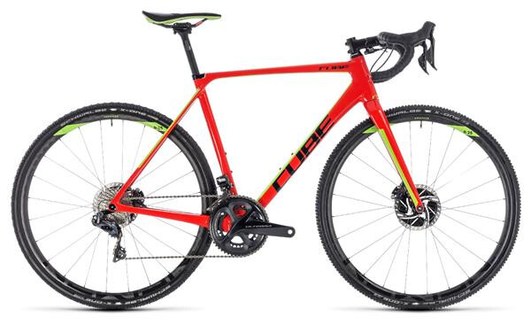 CUBE - Cross Race  C:62 SLT red´n´green