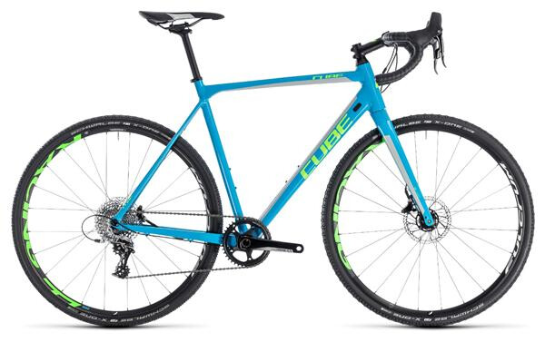 CUBE - Cross Race SL blue´n´green