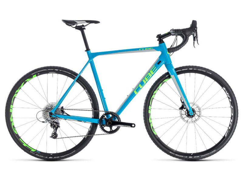 Cube Cross Race SL blue´n´green
