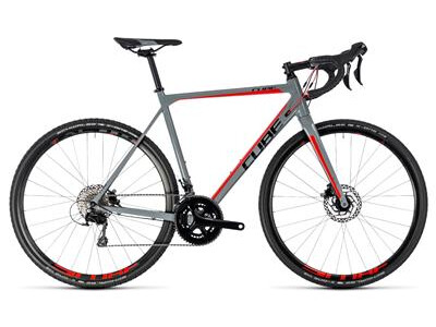 Cube Cross Race Pro grey´n´red, Rh 53