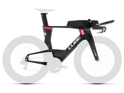 Cube Aerium C:68 Rahmenset Low carbon´n´red