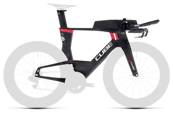 CUBE - Aerium C:68 Rahmenset Low carbon´n´red