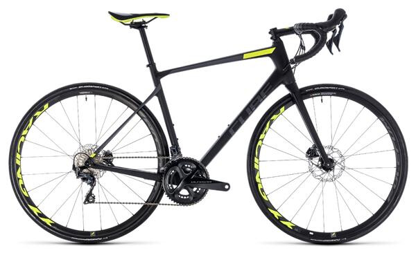 CUBE - Attain GTC SLT Disc carbon´n´flashyellow