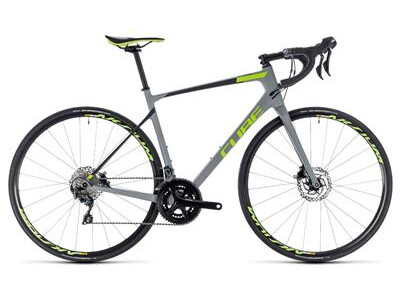 Cube Attain GTC Race Disc grey´n´green