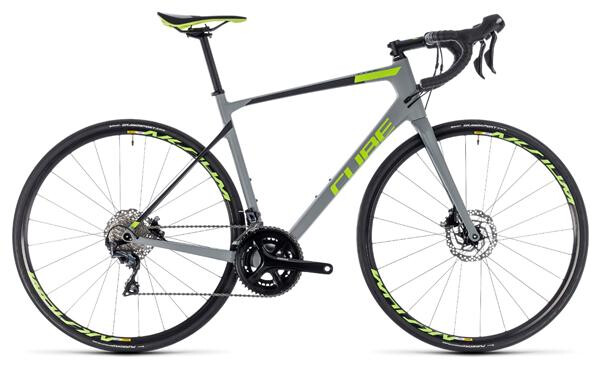 CUBE - Attain GTC Race Disc grey´n´green