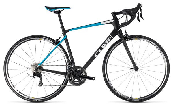 CUBE - Attain GTC Pro carbon´n´blue