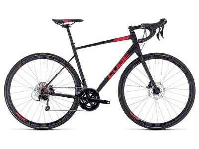 Cube Attain SL Disc black´n´red