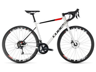 Cube Attain Pro Disc white´n´red