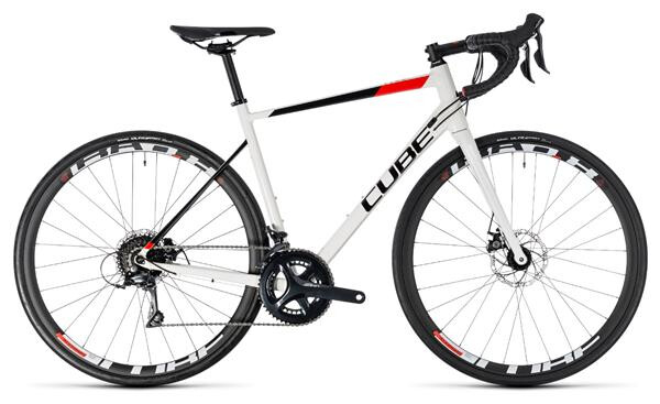 CUBE - Attain Pro Disc white´n´red