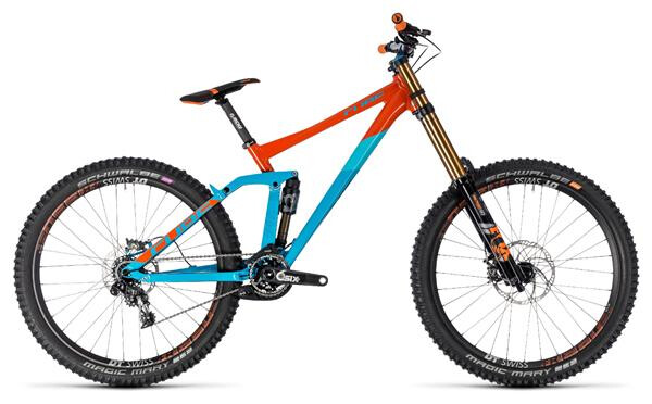CUBE - Two 15 SL 27.5 blue´n´orange