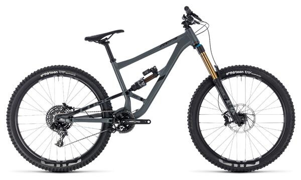 CUBE - Hanzz 190 TM 27.5 grey´n´black