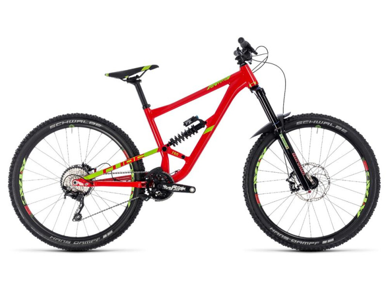 Cube Hanzz 190 Race 27.5 red´n´lime