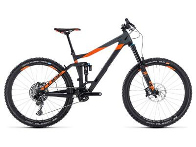 Cube Stereo 160 C:62 TM 27.5 carbon´n´orange