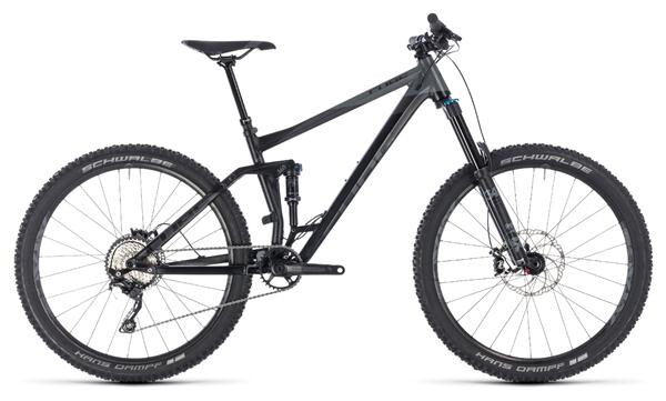 CUBE - Stereo 160 Race 27.5 black´n´grey