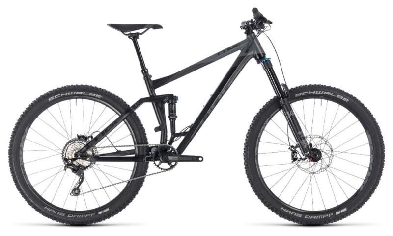 Cube Stereo 160 Race 27.5 black´n´grey  Mountainbike