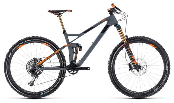 CUBE - Stereo 140 HPC TM 27.5 grey´n´orange