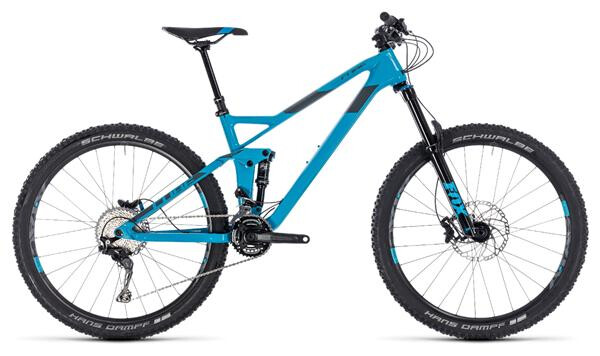 CUBE - Stereo 140 HPC Race 27.5 blue´n´grey