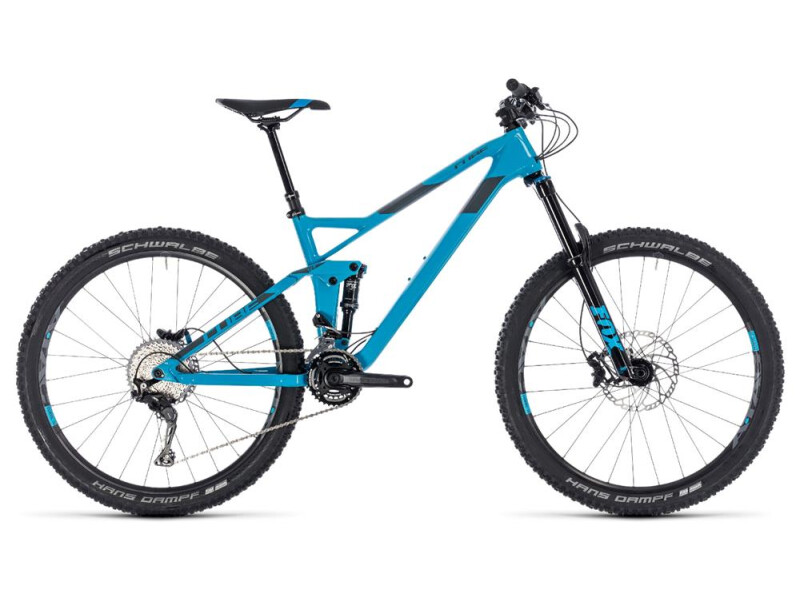 Cube Stereo 140 HPC Race 27.5 blue´n´grey