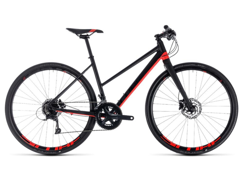 Cube SL Road Pro black´n´red
