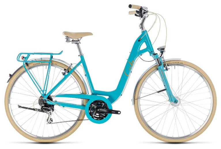 CUBE Elly Ride aqua´n´orange