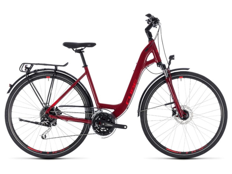 Cube Touring EXC darkred´n´red