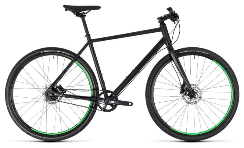 Cube Hyde Race black´n´green Mountainbike