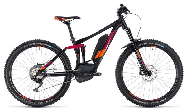 CUBE - Sting Hybrid 140 Race 500 27.5 black´n´berry