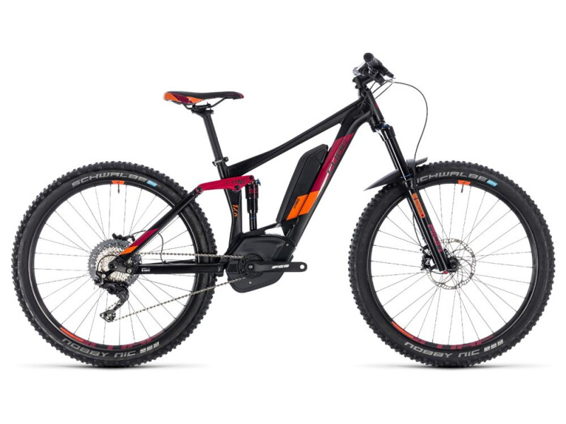 Cube Sting Hybrid 140 Race 500 27.5 black´n´berry
