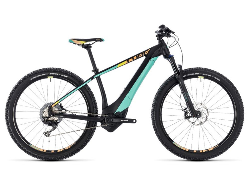 Cube Access  Hybrid SL 500 black´n´mint
