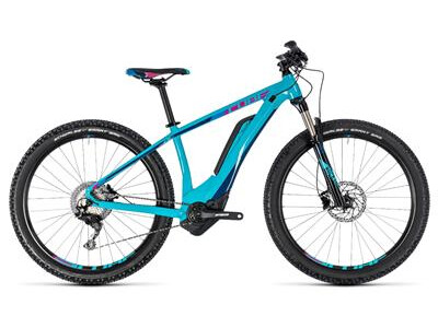 Cube Access Hybrid Race 500 turquoise n rasberry