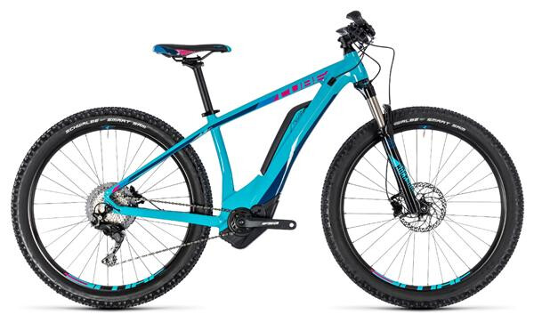 CUBE - Access Hybrid Race 500 turquoise´n´raspberry