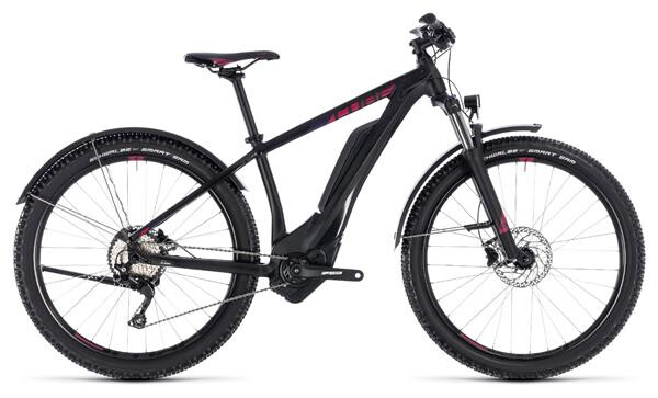 CUBE - Access Hybrid Pro Allroad 400 black´n´berry