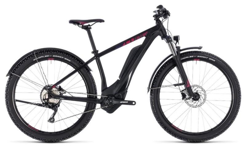 Cube Access Hybrid Pro Allroad 400 black´n´berry E-Bike