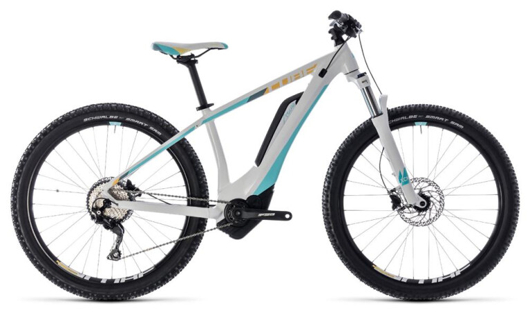 CUBE Access Hybrid Pro 500 white´n´blue