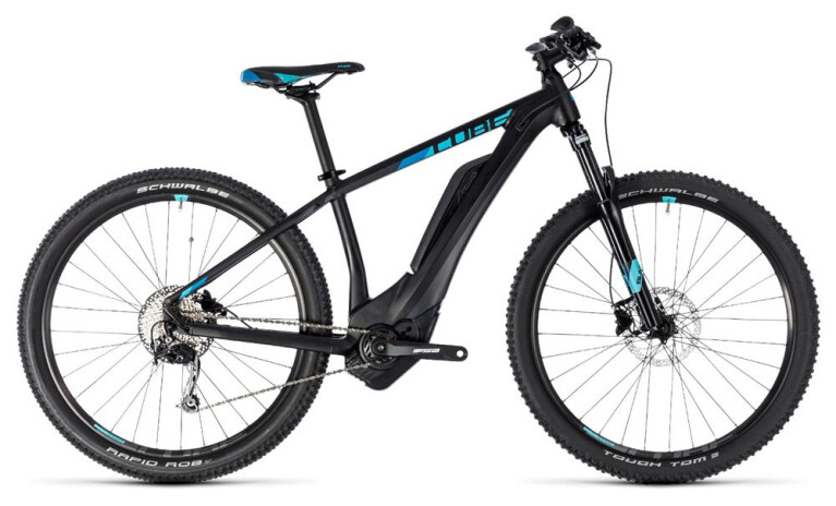 CUBE Access Hybrid ONE 400 black´n´aqua